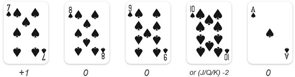 least count card game online